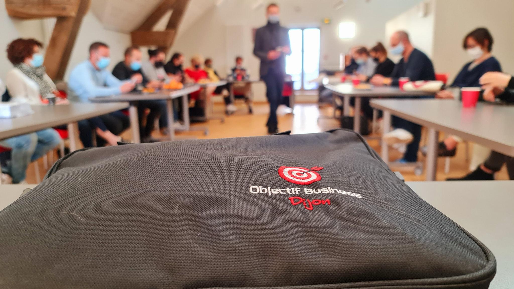 pochette des membres du réseau Objectif Business Dijon